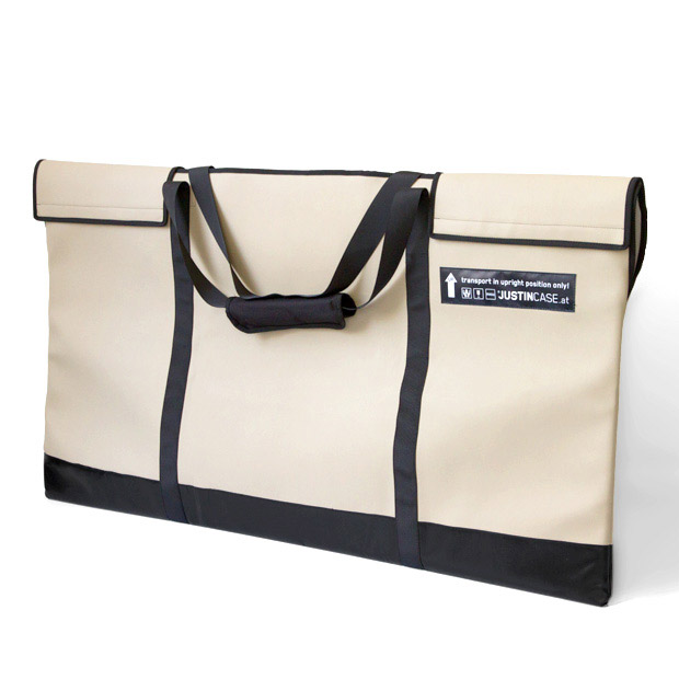 Bag for transportation and protection of rigid bar covers. The bag takes up to two full sets of bar covers