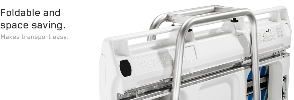 Easy and extremely quick to be set up, the Justincase mobile bar has no parallel on the market in terms of its portability and easy of usage