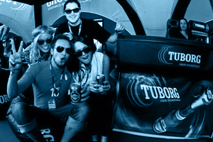 Picture gallery of an event for Tuborg Finland