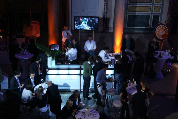 Catering bar at a night club event