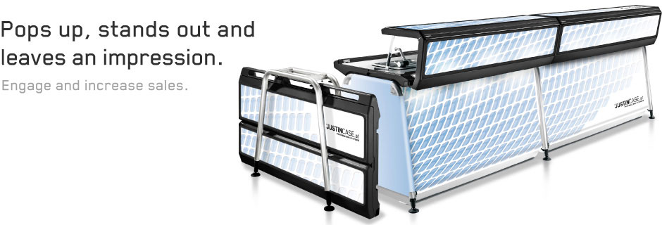 Mobile bar for professionals with high quality and durable materials, foldable and easy to transport